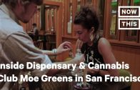 Inside Dispensary and Cannabis Club Moe Greens in San Francisco | NowThis